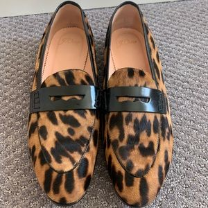 J Crew Academy Penny Loafers 8.5